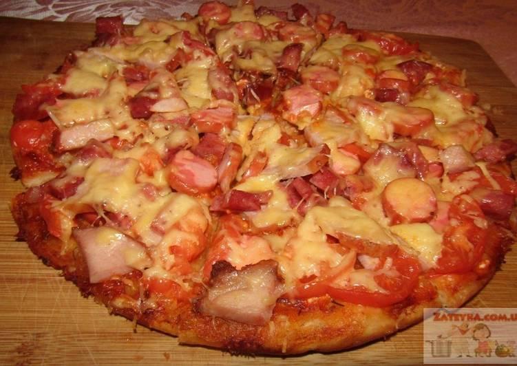 Дрожжевая пицца рецепт приготовления видео рецепты выпечек легкого приготовления