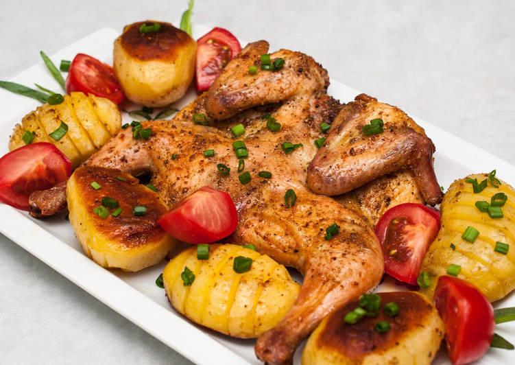 Курица в духовке под маринадом, простой рецепт маринада для курицы