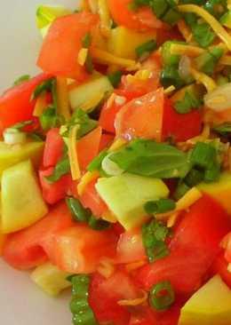 Салат из кабачков сырых