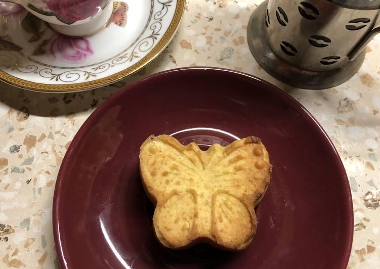 Кукурузно-миндальное постное печенье