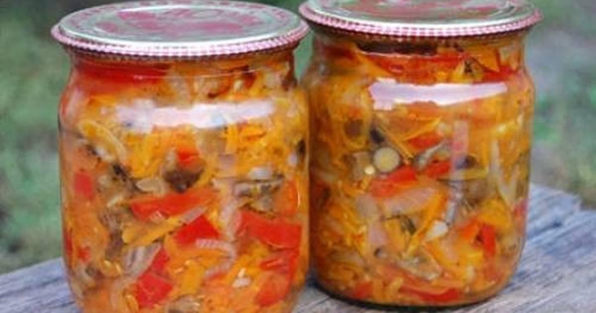 рецепт солянка грибная с капустой на зиму