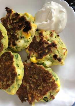 Ленивые пирожки с яйцом и луком пп