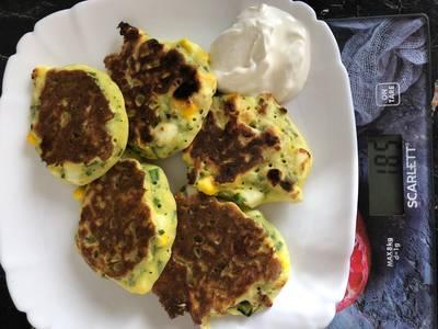 Ленивые пирожки с яйцом и луком #пп