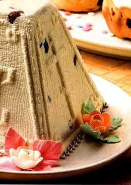 Как сделать вкусную праздничную пасху, простой рецепт творожной пасхи