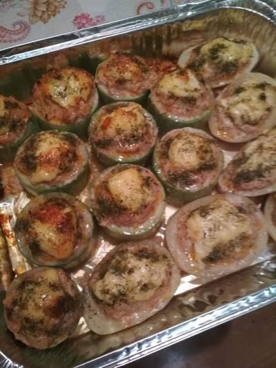 Фаршированые овощи запеченные в духовке