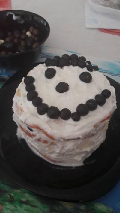 Тортик на завтрак #пп