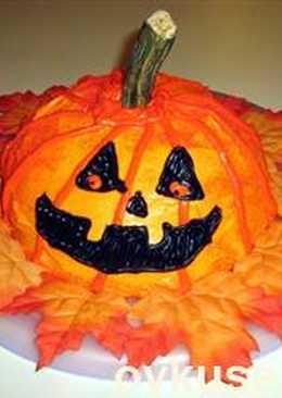 Тыквенный пирог для Хэллоуин