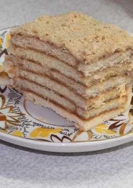 """""""Ленивчик"""" торт с заварным кремом"""