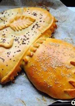 "Пирог из дрожжевого теста ""Грибочек"""