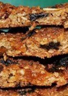 Постный овсяный пирог