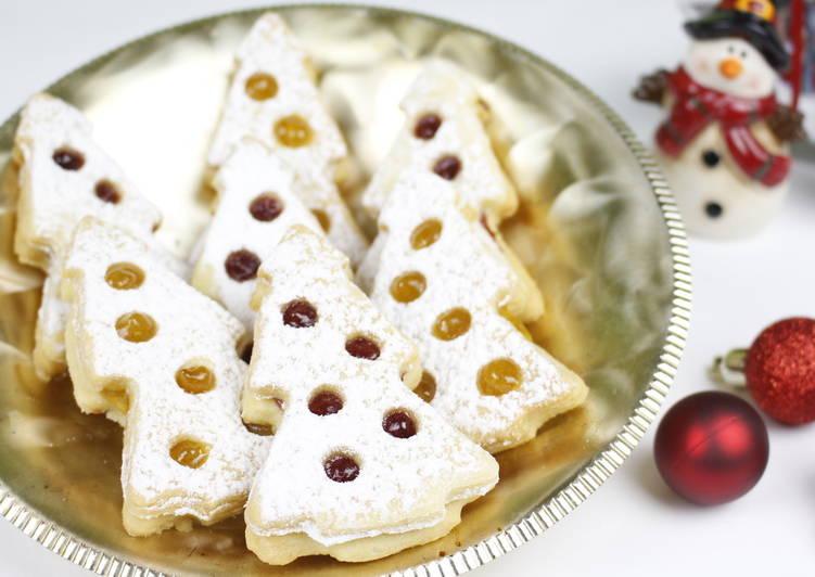 """Новогоднее печенье """"Ёлочка"""""""