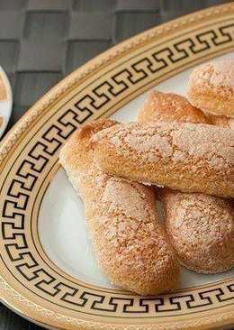 """Бисквитное печенье Савоярди, или """"дамские пальчики"""", – обязательный компонент Тирамису"""