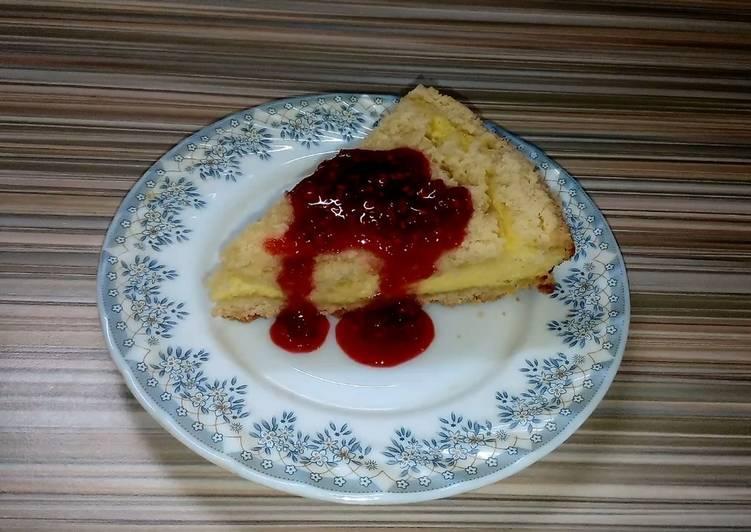 Королевская ватрушка. Пирог с творогом