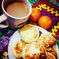 Сырники с рисом. #завтрак #пп #сырники #веган