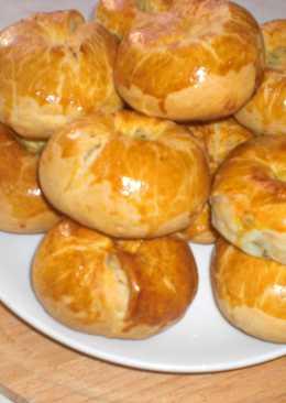 КНЫШИ- пирожки с начинкой..Белоруская кухня