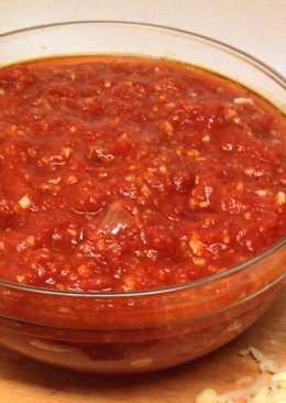 Острый томатный соус и заправка к супам