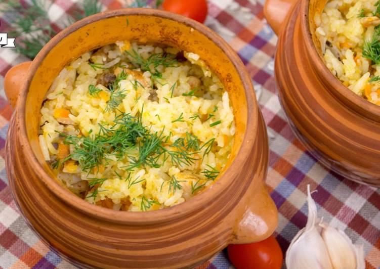 Блюда в горшочках рецепты с фото из курицы в духовке