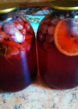 2 варианта клубничного компота