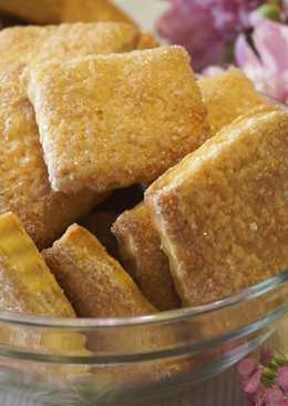 Вкуснейшее Быстрое слоеное печенье на сметане