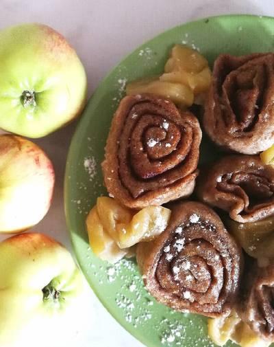 Штрудли с яблоками 🍏 🇩🇪 #чемпионатмира #германия