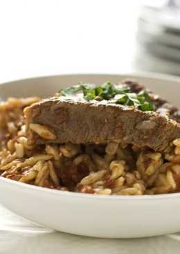 «Юветси» - говядина с макаронами (в духовке)