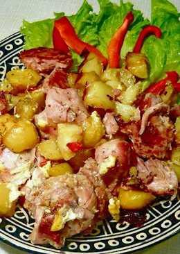 Жаркое из утки с картофелем