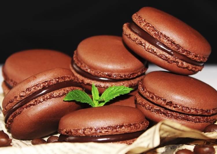 Шоколадно - Кофейные макарон - Мой Идеальный Рецепт - Рецепты nk cooking