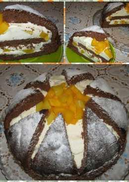 "Торт ""Килиманджаро"" на Новый год"