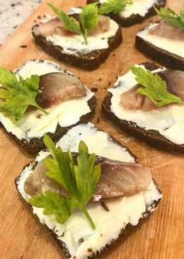Бутерброды с рыбкой #кукпаднаследие