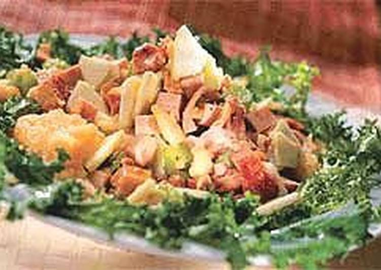 Салат из мясного ассорти