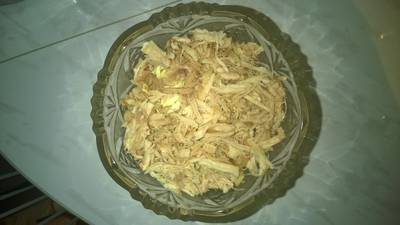 Салат с окорочками