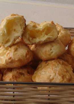 Гужеры. Заварные булочки с сыром
