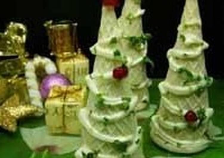 Закуска из брокколи «Новогодние ёлочки»