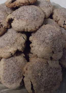 Домашнее печенье с изюмом и корицей