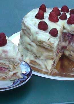 Летний торт с ягодами #чемпионатмира #россия
