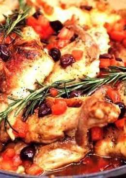 Вторые блюда :новый год 2015кролик по-лигурийски