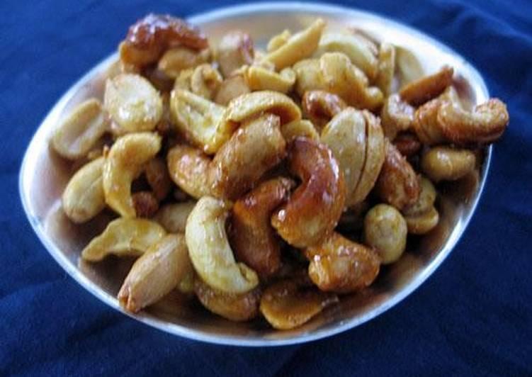 Орехи с карри
