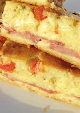 Заливной пирог, самый быстрый и вкусный рецепт