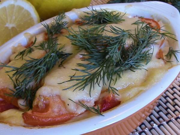 Рыбная запеканка с овощами. Просто и ооочень вкусно!