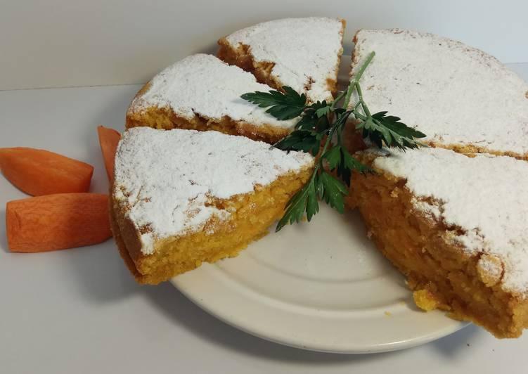 Морковный Пирог. Невероятно Вкусный и Быстрый Рецепт