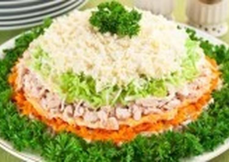 Салат новогодний «Праздничный день»