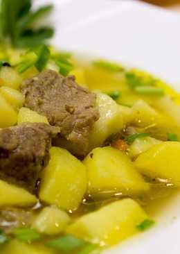 """Безумно Вкусная Тушеная Картошка с Мясом """"Как в Горшочке"""""""