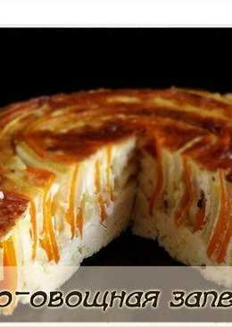 Сырно-овощная запеканка диетическая