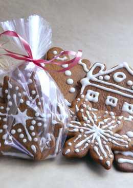 Имбирное печенье в подарок на Новый Год и Рождество