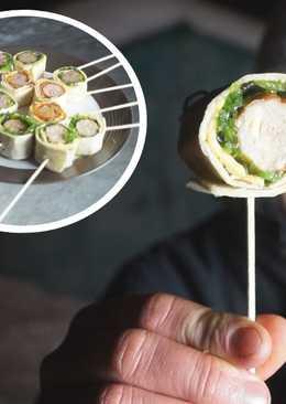 Чупа чупс + Колбаски гриль, Колбаска на палочке