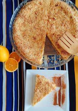 Творожный пирог на скорую руку )