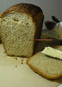 Пшенично-ржаной хлеб в духовке.🍞🍞🍞