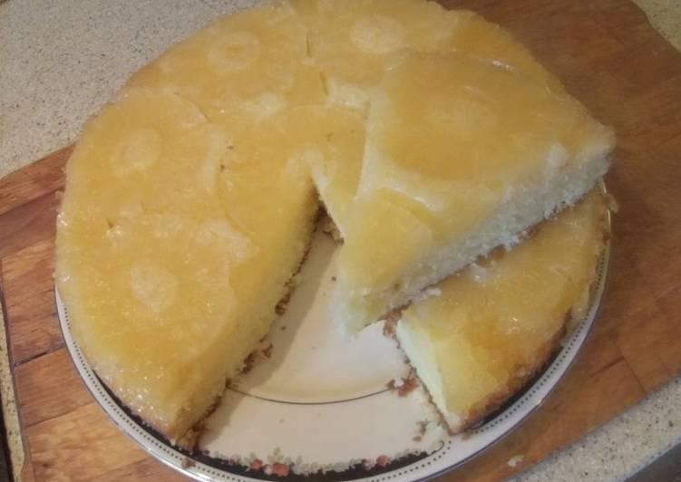 Ананасовый пирог- перевертыш