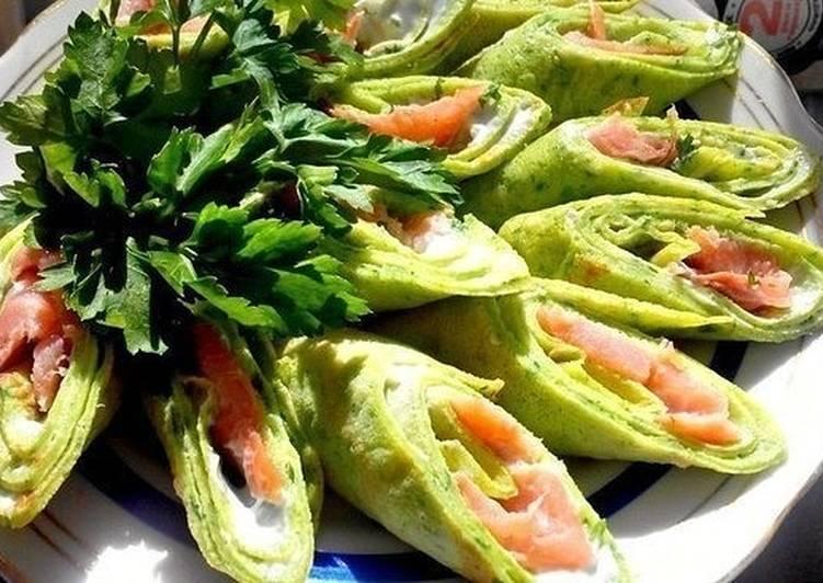 Зеленая закуска