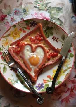 Влюбленная яичница